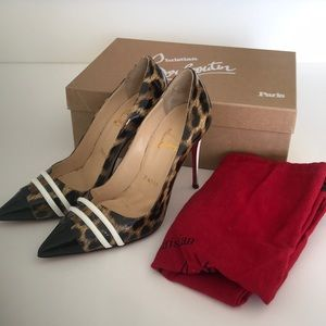 Leopard Christian Louboutin Pumps - almost new